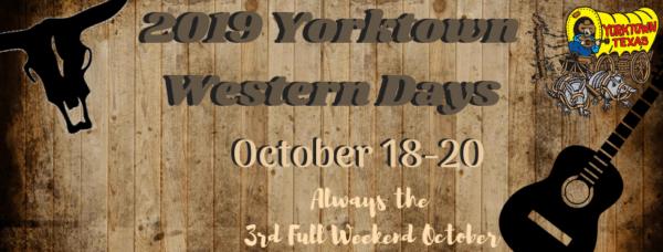 Yorktown Western Days @ Downtown Yorktown