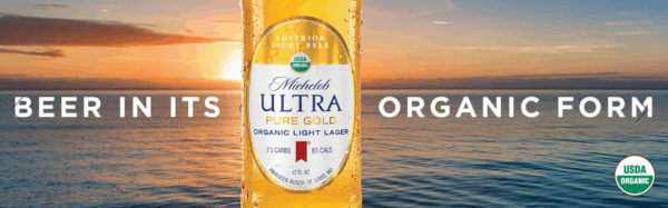 Michelob Ultra Pure Gold: Organic Beer Seeks Organic Future