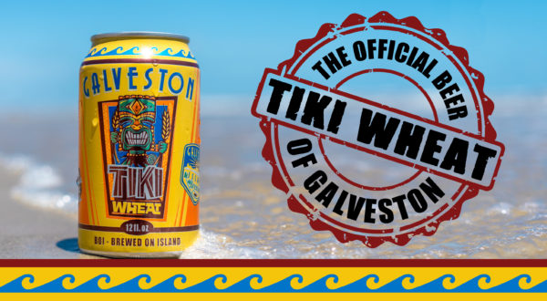 Tiki Wheat: The Official Beer of Galveston